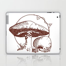 Forest Lover's Mushrooms Laptop & iPad Skin