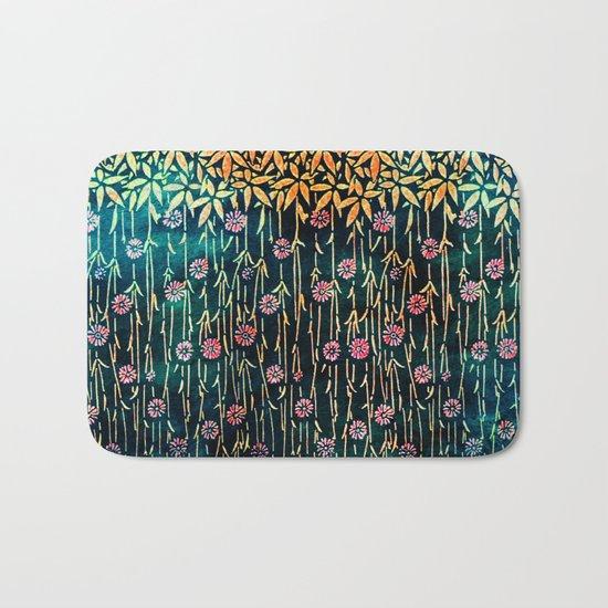 Flower Shower 2 Bath Mat