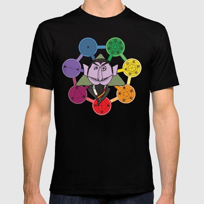 count von count counts regular polygons T-shirt