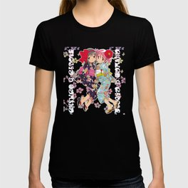 Madoka and Homura in Yukata dress T-shirt
