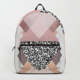Geometric Textures 9 Backpack