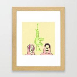 lil purpp smoke pump Framed Art Print