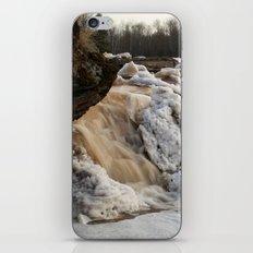 Wintry Bonanza Falls  iPhone & iPod Skin