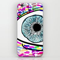 iris iPhone & iPod Skins featuring Iris by Beyond Infinite