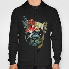 Tropical Frenchie Hoody