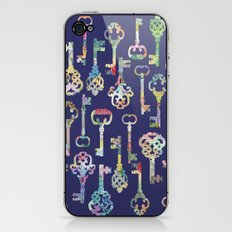 Rainbow Keys iPhone & iPod Skin