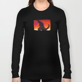Shin Godzilla - background Long Sleeve T-shirt