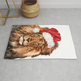 Christmas Lion Rug
