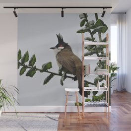 Red-Whiskered Bulbul Wall Mural