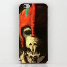 Skeleton soldier iPhone & iPod Skin
