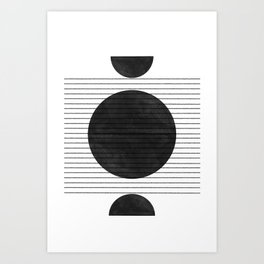 Balance and Space Art Print