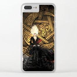 Duhova's Altar Clear iPhone Case