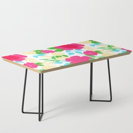 03 Pattern of Flowers Coffee Table