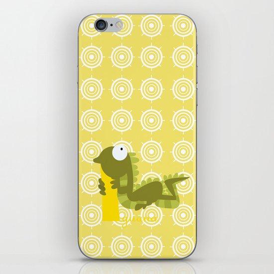 i for iguana iPhone & iPod Skin