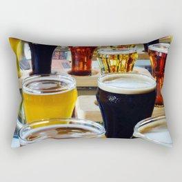 Craft Beers Rectangular Pillow