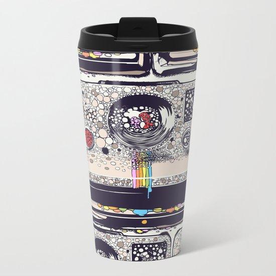 COLOR BLINDNESS Metal Travel Mug