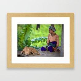 Marma Framed Art Print