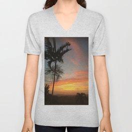 Country Sunsets Unisex V-Neck