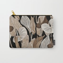 Lush lily - russet Carry-All Pouch