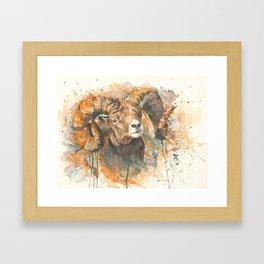 """Big Horn"" Framed Art Print"