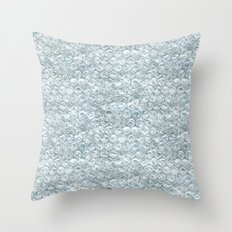 bubble wrap! Throw Pillow