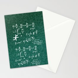 Math Equations Stationery Cards