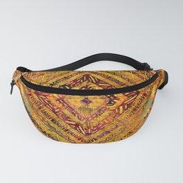 Tribal  Ethnic Boho Pattern Fanny Pack