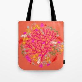 Folk Tree Tote Bag