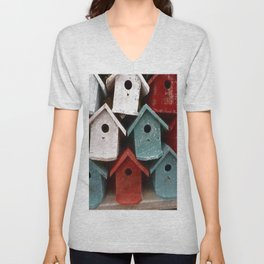 My house is my castle Unisex V-Neck