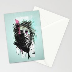 RIOT girl Stationery Cards