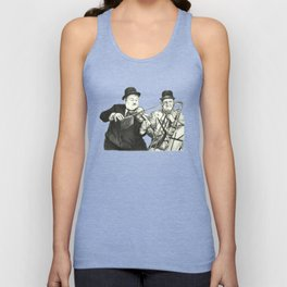 Laurel and Hardy Unisex Tank Top