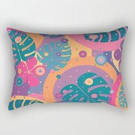 Tropical Dots Rectangular Pillow