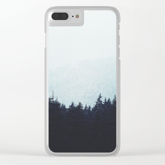 Waiting for fall Clear iPhone Case