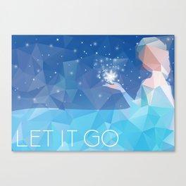 Frozen: Let it Go Canvas Print