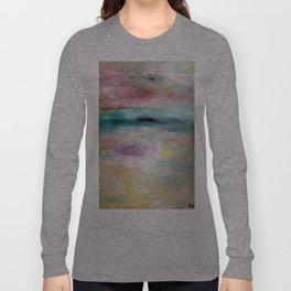 White Ocean Long Sleeve T-shirt