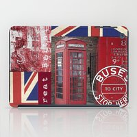 british iPad Cases featuring Very British by LebensART