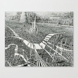 Infinitum Canvas Print
