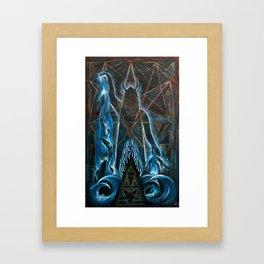 Enki Framed Art Print