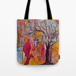 Finding My Way (The Path to Self Discovery/Actualization) Tote Bag