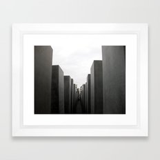 Holocaust Memorial, Berlin #1 Framed Art Print