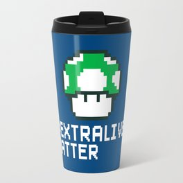 #Extra Lives Matter Travel Mug