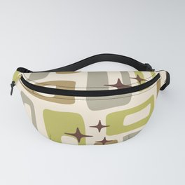 Mid Century Modern Geometric Abstract 130 Fanny Pack