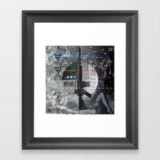 I Don't Think So < The NO Series (B&W) Framed Art Print