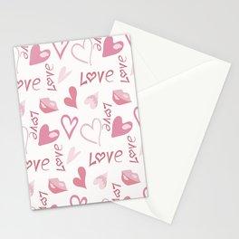 День всех влюбленных Stationery Cards
