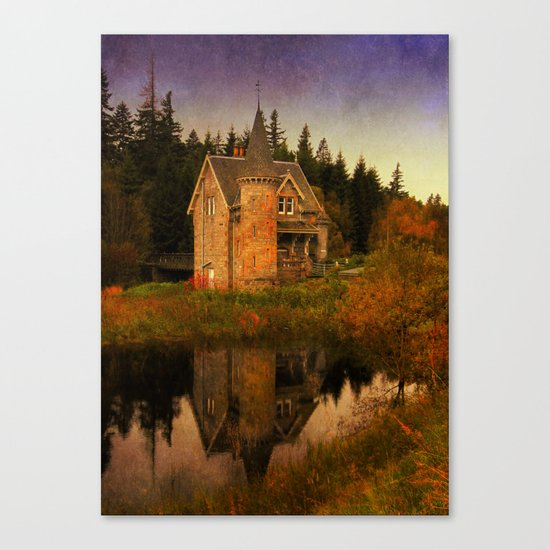 """""""The Old House"""" Canvas Print"""