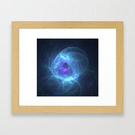 Bioluminescence Framed Art Print
