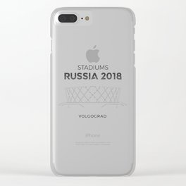 Volgograd Stadium | Russia 2018 Clear iPhone Case
