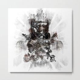 Fainting Metal Print