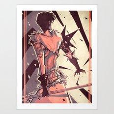 Dragon Age: Marian Hawke Art Print