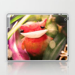 Red kitty in the Jungle Laptop & iPad Skin